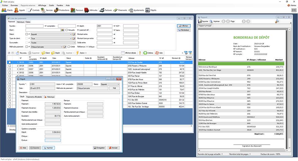 Logiciel usoftcrm optimisation des parcours et gestion for Logiciel espace vert